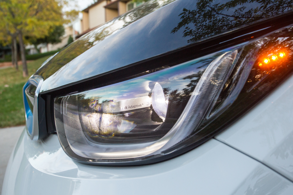 BMW's Adaptive LED lights give the car a beautiful appearance and provide some great functionality while driving at night.